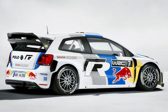 Volkswagen Polo WRC Race Car