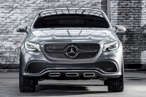 Пекин 2014: Mercedes-Benz Coupe SUV