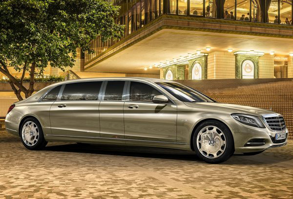 Лимузин Mercedes-Maybach Pullman - Фото 1