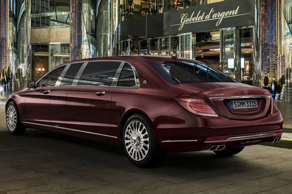 Лимузин Mercedes-Maybach Pullman - Фото 2