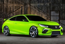 Нью-Йорк 2015: Honda Civic Concept