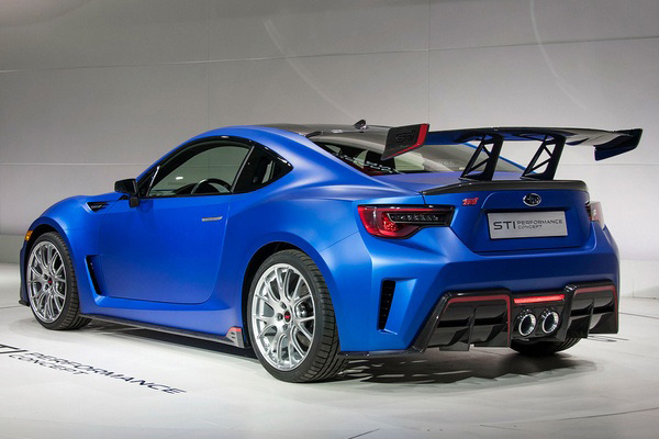 Subaru BRZ STI Performance - Фото 2