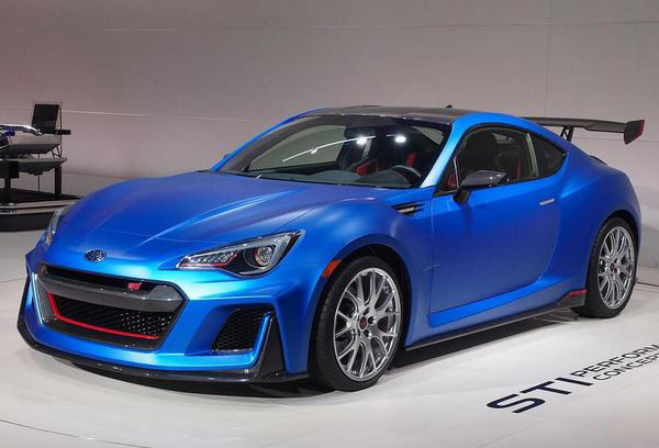 Subaru BRZ STI Performance - Фото 1