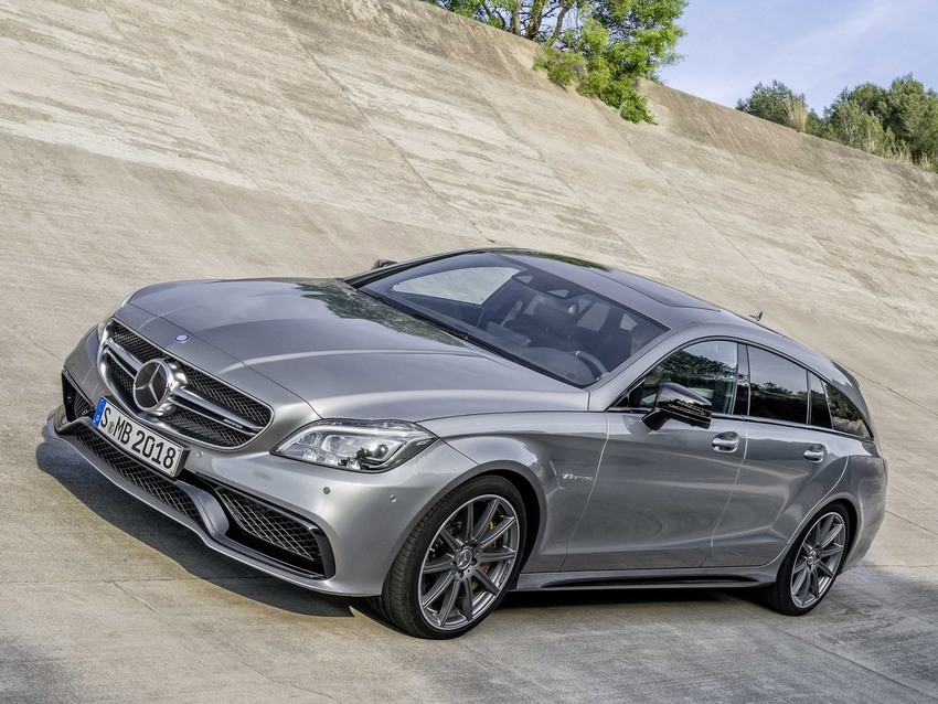 Фото Mercedes-Benz CLS Shooting Brake AMG