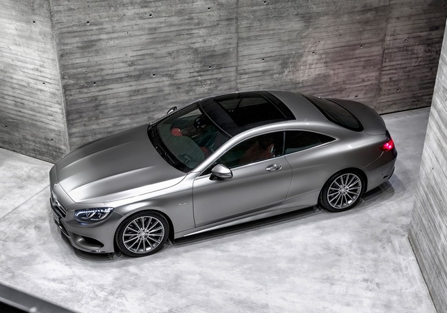 Фото Mercedes-Benz S-Class Coupe