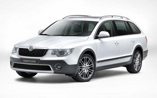 Skoda Superb Combi Outdoor-Package
